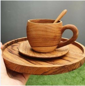 Wooden Cup Tray